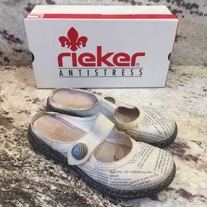 RIEKER Slip-On Shoes, Size 8